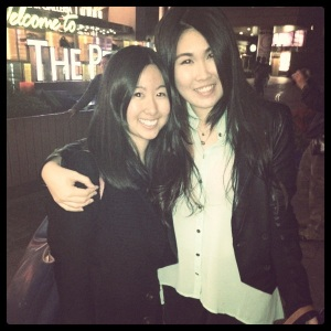 Great to see kaykay in Hong Kong!!! Met up at the peak and then went for a drink at LKF xd