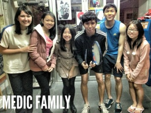 blessed that God gave me a family in Hong Kong <3