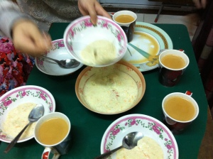 Great experience at the outreach service for Operation Mission!!! Served Kheer (a dessert) and Pakistani tea by our extremely hospitable hosts Sumera and her family =)