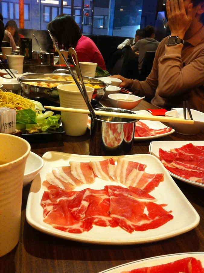 Amanda's birthday celebration with Japanese Hotpot!!! yumss